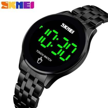 SKMEI 1579 LED Touch Screen Watch for Men – Black